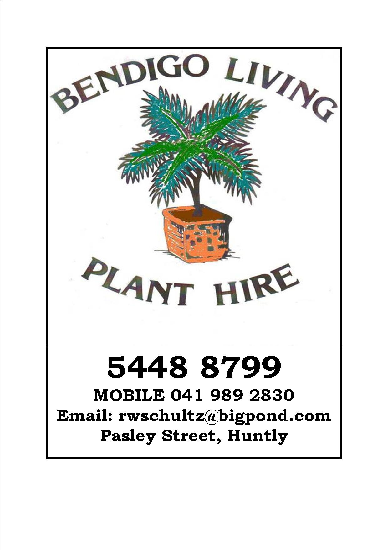 Bendigo Living Plant Hire